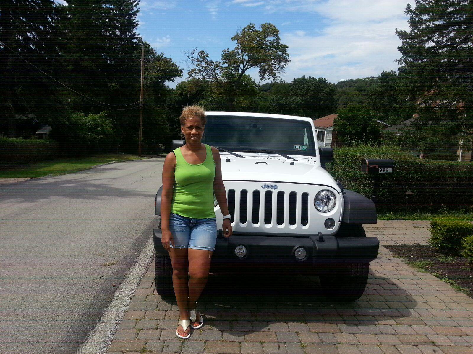 He was patient and kind through the whole shopping and leasing experience of my jeep wrangler i love along with my children the jeep wrangler