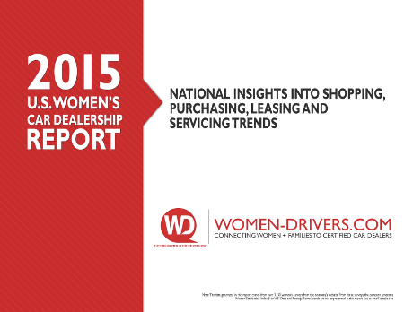 2015 US Women's Car Buying Report