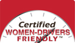 Certified Women-Drivers Friendly Seal