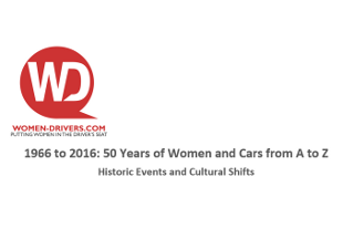 Free Report: 50 Years of Women and Cars - From A to Z