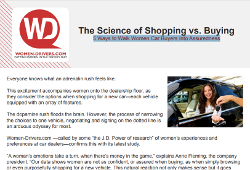 Science of Shopping vs Buying